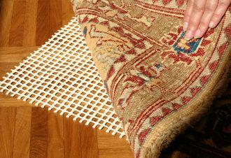 L'antiscivolo per tappeti è raccomandato.