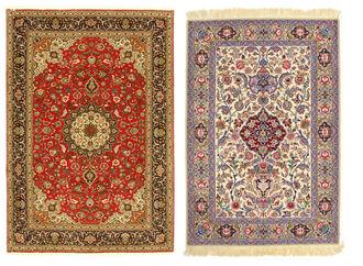 Confrontate sempre tappeti dello stesso tipo. Il confronto tra un Tabriz ed un Isfahan, ad esempio, non ci dice molto di nessuno dei due tappeti.